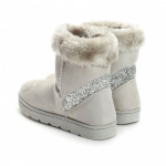 Shoes, snow boots, warm, quality, light gray
