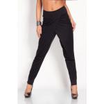 Baggy pants, loose, high waist, black