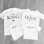 T-Shirt, HIS QUEEN, manufacturer, quality, white
