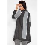 Colored cardigan, coat, quality, graphite