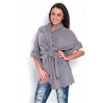 Woven, sweatshirt, tie, manufacturer, gray