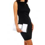 Vestito classico, di alta qualità, nero M-XL