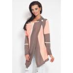 Gekleurd vest, jas, kwaliteit, cappuccino