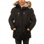 PARKA MAN GEOGRAPHICAL NORWAY HOOD FUR C