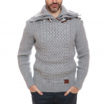 PULL HOMME  GEOGRAPHICAL NORWAY COL MONTANT FRAGRA