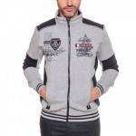 SWEAT HOMME ZIPPÉ GEOGRAPHICAL NORWAY  FROUTI