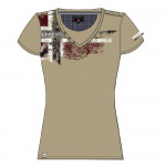 T-shirt femme Geigraphical norway