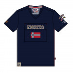 T-Shirt Hombres Geographical Norway