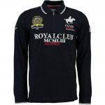 Long Sleeve Polo Shirt Geographical Norway