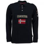 Polo de manga larga niño Geographical Norway