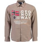Camisa de manga larga hombre Geographical Norway