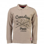 POLO MANCHES LONGUE HOMME CANADIAN PEAK