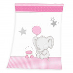 Fynn Elephant Microfaserflausch -couverture