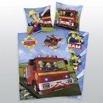 Fireman Sam biancheria letto