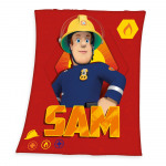 Fireman Sam Fleece -manta