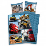 Young Collection: Excavators bed linen