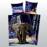 Young Collection: Big City Elephant drap