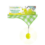 MosquitNo Tablecloth Hanger Set with refill sponge