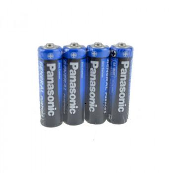 Panasonic Batteria più (4) R6 AA Mignon (Shrink)