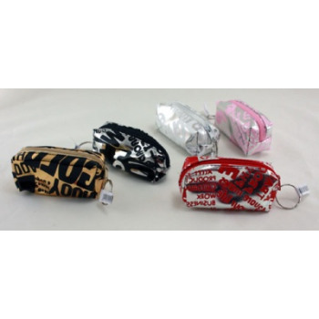 keychains vinyl cover assorted colors