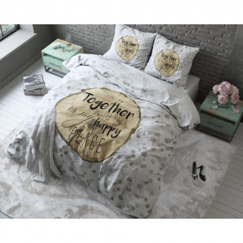 Wood Love White 240 x 220 Wit
