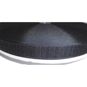 bande crochet 20 mm noir