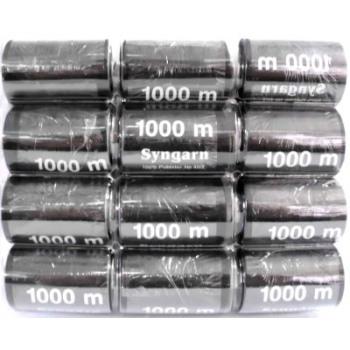Hilados 1000m negro