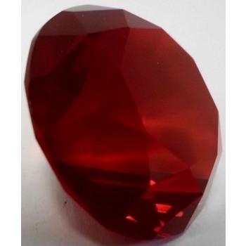 Verre cristal de diamant 3cm rouge