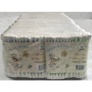 tampons de coton