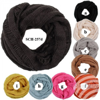 SCH-257d Tube Tubeschals knitting scarves in whole