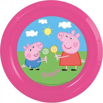 Assiette Plastique 21cm PEPPA PIG