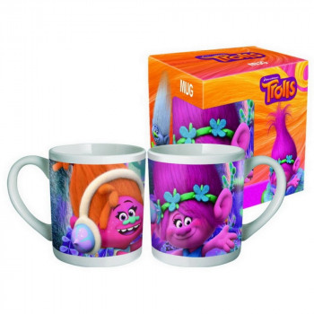 Coffret Mug Céramique 23cl TROLLS