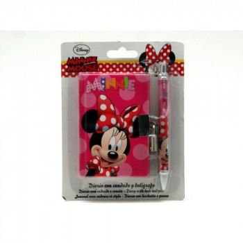 Set Diary Pen + Minnie