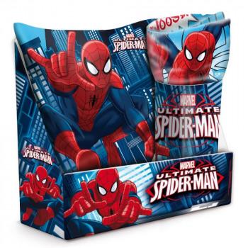 Set Pillow + Plaid Spiderman