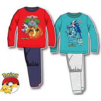 Children long pyjamas Pokemon 4-12 years