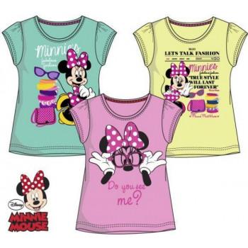 T-shirt voor kinderen, top Disney Minnie 3-8 jaar