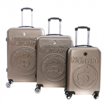 Lot de 3 Valises Geographical norway