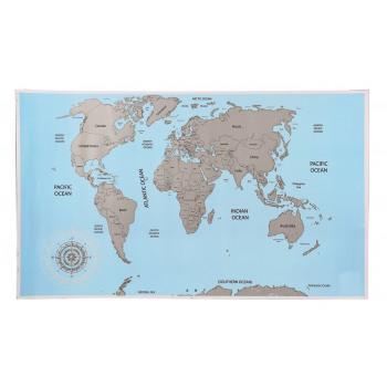 Scratch Mappa del mondo