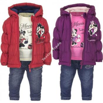 Minnie 3 teilige baby set