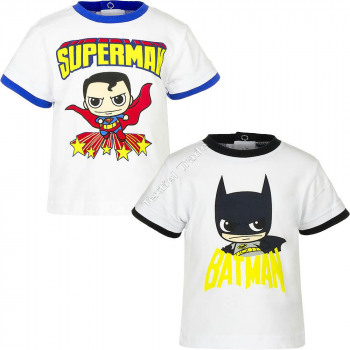 Batman vs Superman bebé camiseta manga corte