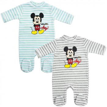 Mickey bebé traje manga larga
