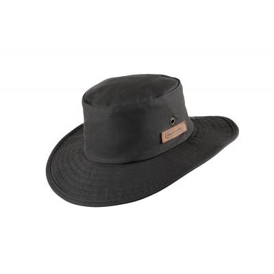 OilSkin hoed Oilskin Jack zwart maat M