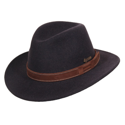 Wool hat Paxton anthra size M