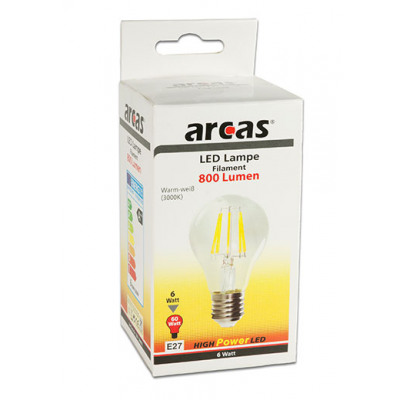 LED Lamp / Filament / Bulb / E27 / 6W ≙ 60W / 80 From Wholesale And ...