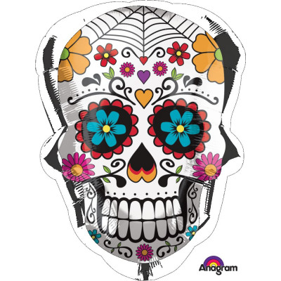 Outstanding Supershape Sugar Skull Foil Balloon Pac From Wholesale Evergreenethics Interior Chair Design Evergreenethicsorg