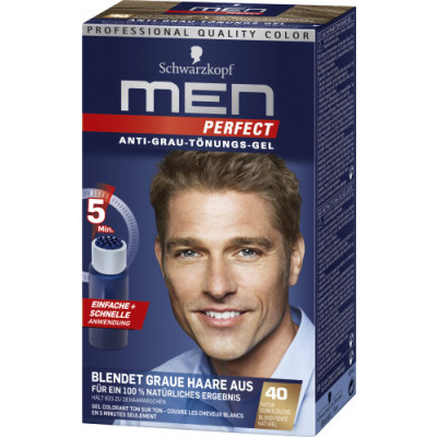 Men Perfect Dunkelblond Mp40 From Wholesale And Import