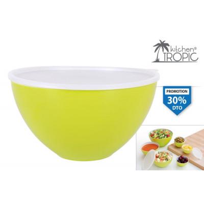 Zen Melamine Salad Bowl 23cm
