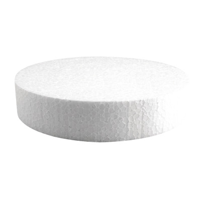 Styrofoam disc, 20cm ø, from wholesale and import