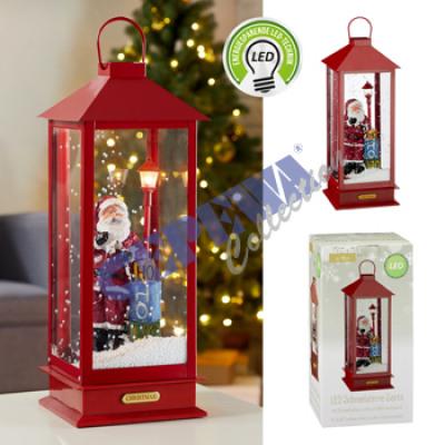 Snow lantern Santa, L, 48cm