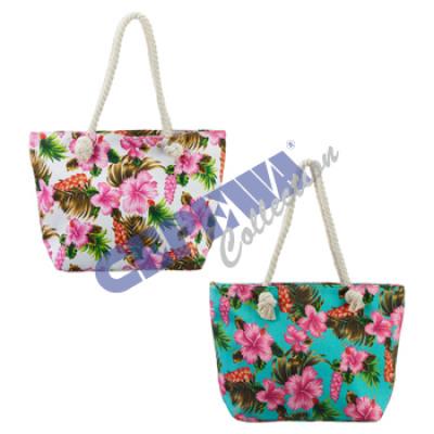 Beach bag 'Flower' 2 / s